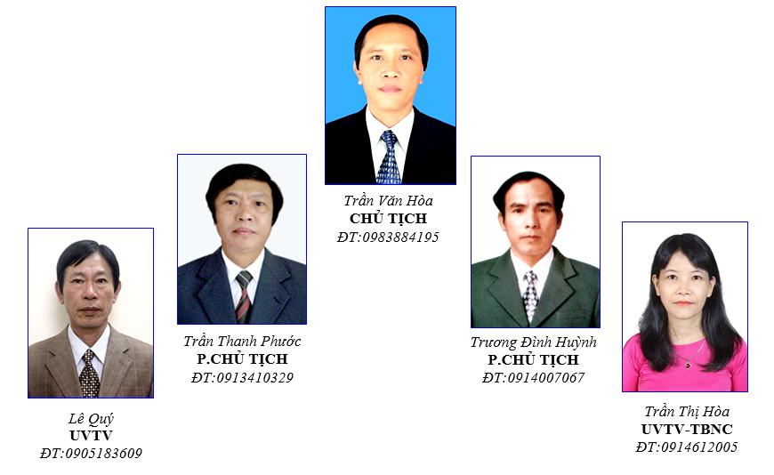 Ban thường vụ Công đoàn nhiệm kỳ 2013-2018